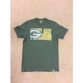 Green Bay Packers Men's Vintage Look Scrum Short Sleeve Tee