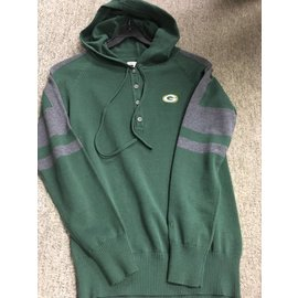 Green Bay Packers Women's Hooded Henley Sweater
