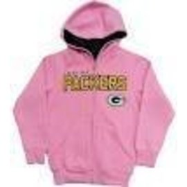 Green Bay Packers youth stated full zip hoodie