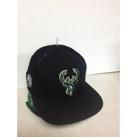 Milwaukee Bucks Men's 9-50 Mesh Fresh Snapback Adjustable Hat