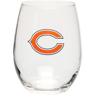 Chicago Bears 16oz Curved Beverage Glass