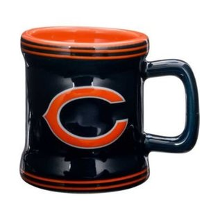 Chicago Bears 2oz Sculpted Mini Mug Shot Glass