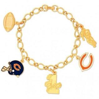 Chicago Bears Charm Bracelet