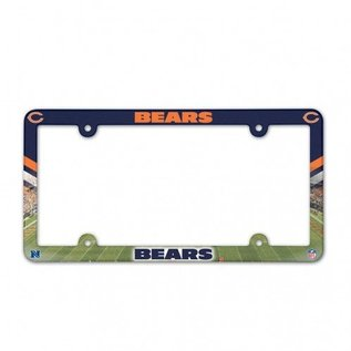 Chicago Bears full color license plate frame