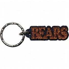 Chicago Bears Glitter Bears Key Chain