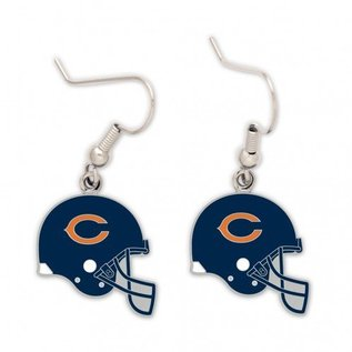 Chicago Bears Helmet Dangle Earrings