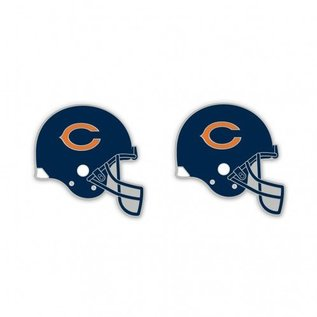 Chicago Bears Helmet post earrings