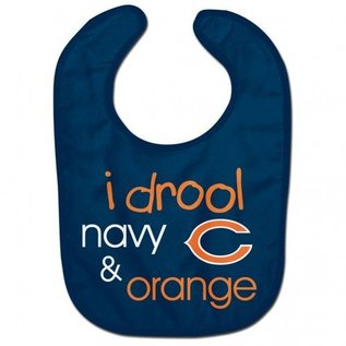 Chicago Bears I Drool Baby Bib