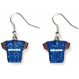 Chicago Bears Jersey Dangle Earrings
