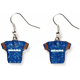 Chicago Bears Jersey Dangle Earrings