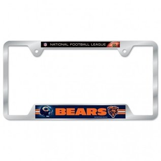 Chicago Bears Metal License Plate Frame