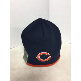 Chicago Bears Nylon Tech Knit Beanie Hat