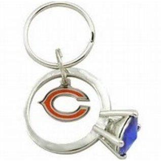 Chicago Bears Ring Keychain