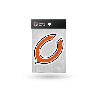 Chicago Bears shape cut static cling