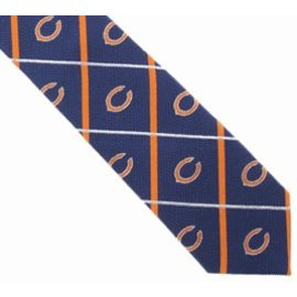 Chicago Bears Silver Line Tie