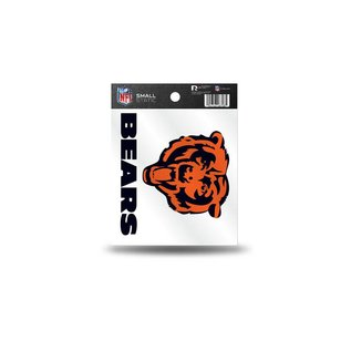 Chicago Bears small static cling
