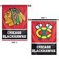 Chicago Blackhawks 2 Sided Vertical Flag