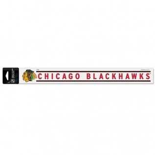 Chicago Blackhawks 2x17 perfect cut decal