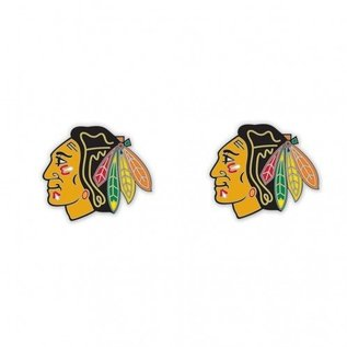 Chicago Blackhawks Post Earrings
