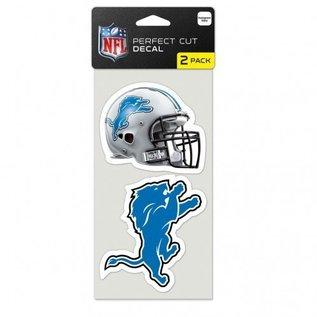 Detroit Lions 2 pack Perfect Cut Decals