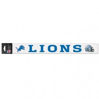 Detroit Lions 2x17 Perfect Cut Decal