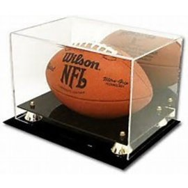 Gold Riser Football Display Case