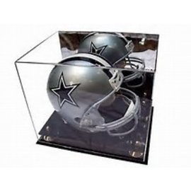 Gold Riser Helmet Display Case
