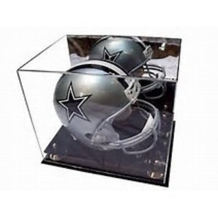 Gold Riser Helmet Display Case
