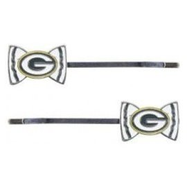 Green Bay Packers 2 Pack Bobby Pins