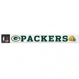 Green Bay Packers 2x17 Perfect Cut Decal