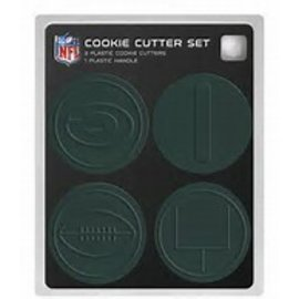 Green Bay Packers 4 pc Cookie Cutters