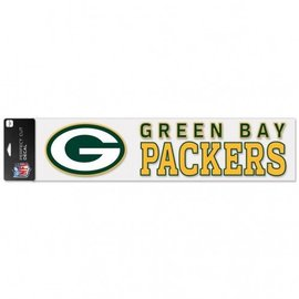 Green Bay Packers 4x17 Perfect Cut Decal