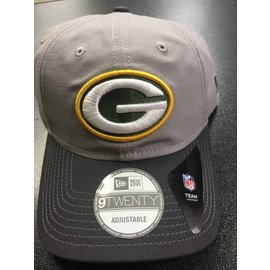 Green Bay Packers 9-20 Core Shore Grayed Leather Strap Back Hat