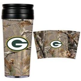 Green Bay Packers Camo Travel Mug