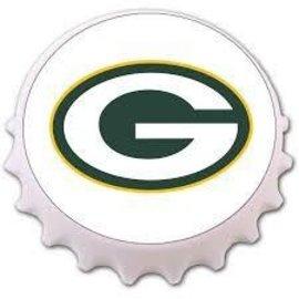Green Bay Packers Cap Shaped Bottle Opener