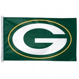 Green Bay Packers G logo 3x5 flag