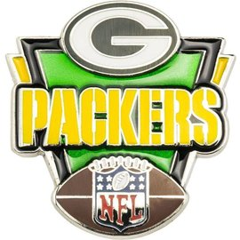 Green Bay Packers G, Packers, Football Victory Pin