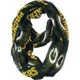 Green Bay Packers Dark Green Infinity Scarf
