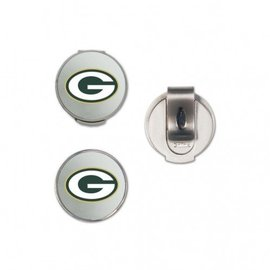 Green Bay Packers Hat Clip with 2 markers