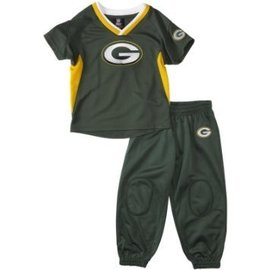 Green Bay Packers infant Field Goal Pant set