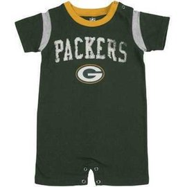 Green Bay Packers infant Old School Romper