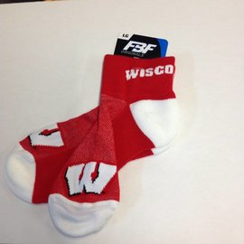 Wisconsin Badgers The Cuff Sock