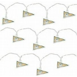 Green Bay Packers LED Pennant Party Lights - 10 Foot String