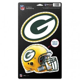 Green Bay Packers magnet 2 pack