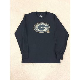 Green Bay Packers Men's Camo Tek Patch Long Sleeve Tee