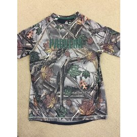 Green Bay Packers Men's The Woods Camo Polyester Short Sleeve Tee