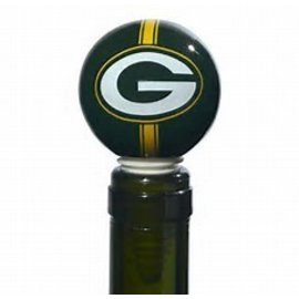 Green Bay Packers Round Bottle Stopper
