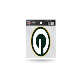 Green Bay Packers Small Static Cling - G