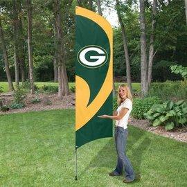 Green Bay Packers Tall Team Flag Kit - 8.5' Flag
