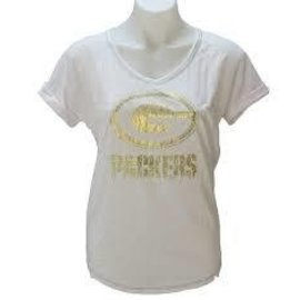 Green Bay Packers womens Champion Swagger short sleeve tee